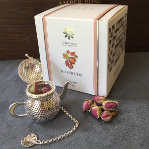 Rose buds & teapot infuser